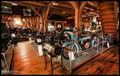 Musées de la moto etc. Museum-og-ansicht